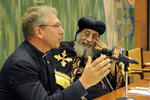 Pope Tawadros II visits WCC offices