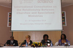 Malawi Consultation - specialized ministries
