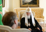 WCC general secretary meeting with the Russian Orthodox Church (Moscow Patriarchate), April 2015