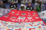 "Opening ceremony of ""Quilt in The Capital"" 21 July on The National Mall."