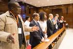 Interfaith prayer on the eve of UN High Level Meeting on AIDS, 2016