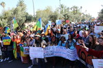 Climate march at COP22