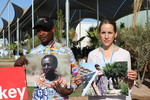 """Handheld exhibition """"The human face of climate change"""" at COP22"""