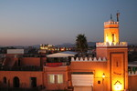 Sunset in Marrakech during COP22 climate change conference