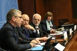 Report on the religious minorities in Iraq/Syria: Press conference at the UN