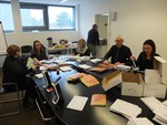 Preparation of WCC Christmas cards 2016