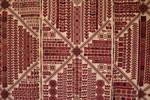 Presentation of Palestinian tapestry