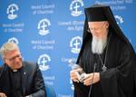 Ecumenical Centre visit by Ecumenical Patriarch Bartholomew I, 24 April 2017