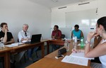 Meeting with Brazilian delegation on water issues
