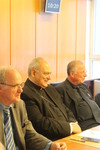 S.E.R. Mgr Marcelo Sanchez Sorondo visit to the WCC, Chancellor of the Pontifical Academy of Sciences, the Pontifical Academy of Social Sciences and Forum Engelberg