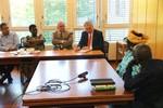 Dr. Rebecca Dali and Rev. Samuel Dali visits Ecumenical Centre