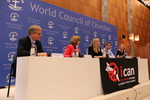 ICAN press conference on receiving the Nobel peace prize