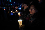 Candle-light vigil for peace in Korea