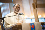 Nigerian Primate Ositelu visits the World Council of Churches in Geneva