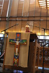 Morning prayer with the Assembly Planning Committee and Konrad and Elisabeth Raiser