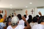 Sunday worship service at 4th Presbyterian Church of Barranquilla