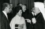 Chō Takeda Kiyoko and Patriarch Maxim of Bulgaria