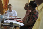 During a visit of the WCC general secretary to Haiti, in June 2010