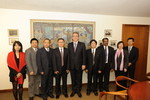 Visit of a delegation from the China Christian Council, 6 December 2010