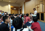 Children at First Baptist Church, Petaling Jaya, Kuala Lumpur.