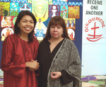 Dr Patricia Martinez and Nora Murat