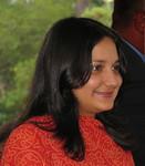 Miriam Shastri, an 18-year-old steward at the meeting.