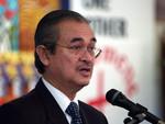 Malaysian prime minister Datuk Seri Abdullah Bin Haji Ahmad Badawi addressing the Faith & Order Commission.