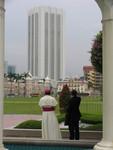 Faith & Order commissionners admiring Kuala Lumpur skyline.
