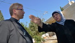 Mariam Ghawi detailed her ordeal to Rev. Dr Olav Fykse Tveit, general secretary of the World Council of Churches, during a 29 August visit to the community of Sheikh Jarrah where, in August 2009, 12 P