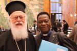 H.B. Archbishop Anastasios of Tirana and Rev. Dr. Simon Kossi Dossou