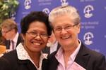 Rev. Dr Margaretha M. Hendriks-Ririmasse and Dr Jill Tabart