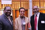 Rev.Garland Pierce , Ms. Semegnische Asfaw and Bishop Dr. John Franklin White