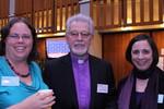 Ms. Eden Grace, H.E. Archbishop Dr. Vicken Aykazian and Ms. Natasha Klukach