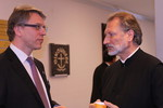WCC general secretary Rev. Dr Olav Fykse Tveit with H.G. Bishop Irenej of Australia and New Zealand