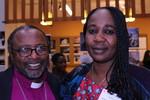 Bishop Dr. Owdenburg Mdegella and Mrs Pati Kyafa