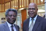 Dr Rogate Mshana and Rev. André Karamaga