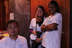 Hau Sian Suan, Lilian Gomes & Rose Mika Fable, stewards WCC Central Committee 2011