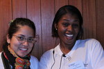 Lilian Gomes & Rose Mika Fable, stewards WCC Central Committee 2011