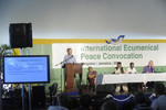 IEPC plenary session on Peace with the Earth