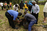 Tree planting at the IEPC