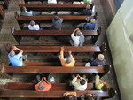 Weekly service for homeless people at Lutheran congregation in São Paulo