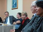 Rev. Dr Ofelia Ortega addresses participants of the panel at the Methodist University