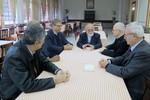 WCC and CLAI leaders meet Archbishop of São Paulo dom Odilo Scherer
