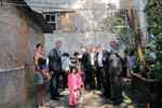 WCC delegation visiting a rubbish collectors project in Osasco