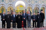 WCC delegation are welcomed by H.E. Metropolitan Damaqskinos Mansour
