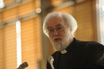Archbishop Dr Rowan Williams at the Ecumenical Centre morning prayers