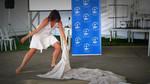 Dancer at WCC workshop, Peoples Summit