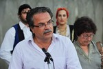 Memorial service for road accidents victims, Chania, Greece