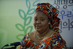 WCC 10th Assembly- Press conference with Ms Leymah Gbowee, Liberia