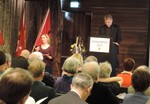 Rev. Dr Olav Fykse Tveit addresses the Synod of the Church of Norway